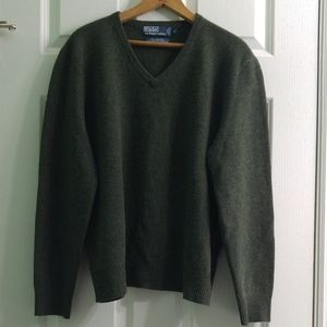 100% Lamb's Wool Pullover, Polo by Ralph Lauren